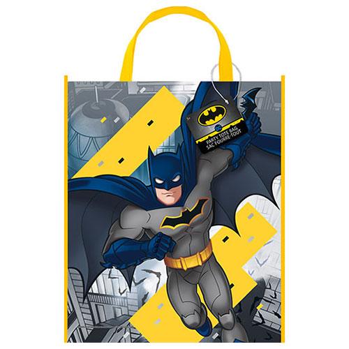 Bolsa De Plástico Batman 33Cm X 28Cm