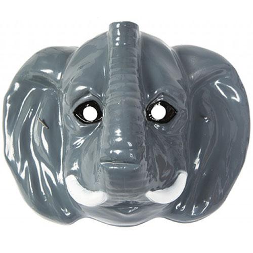 Mascarilla De Plástico Elefante 23Cm