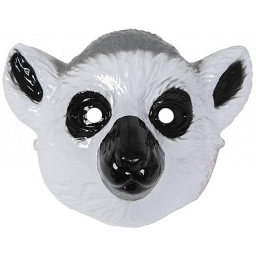 Mascarilla De Plástico De Lémur 22Cm