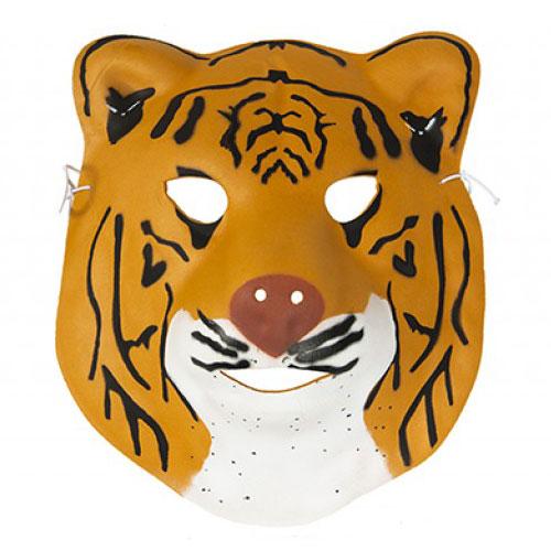 Mascarilla De Espuma De Tigre 22Cm