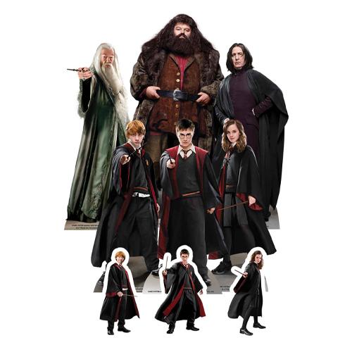 El Mundo Mágico De Harry Potter Decoración De Mesa Recortada - Paquete De 9