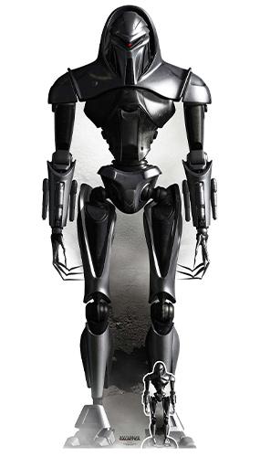Cylon Forma De Vida Cibernética Nodo Battlestar Galactica Recorte De Cartón De Tamaño Natural 195Cm