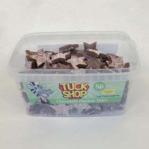 Dulces Vegetarianos Con Estrellas De Chocolate Con Leche - Paquete De 120