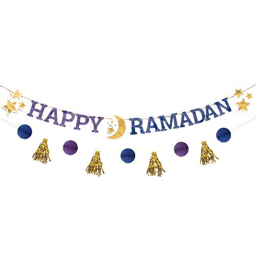 Kit De Banner De Carta De Ramadán Feliz