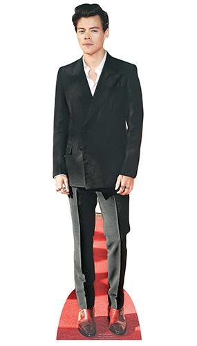 Harry Styles Zapatos Rojos Estrella Mini Recorte De Cartón 90Cm