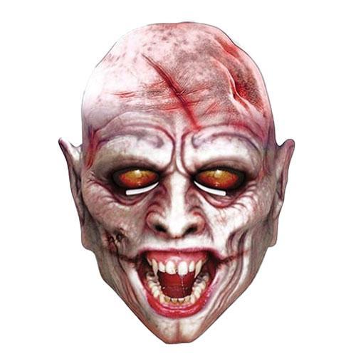 Mascarilla De Cartón De Vampiro De Halloween