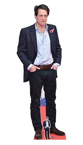 Hugh Grant Camisa Azul Recorte De Cartón De Tamaño Natural 180Cm