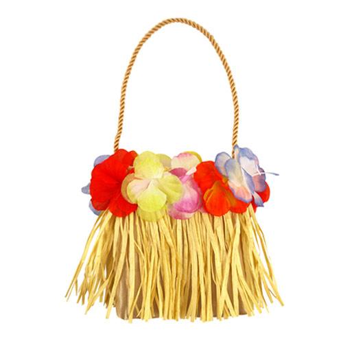 Bolsa De Hula Con Flores 15Cm