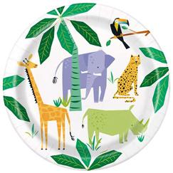 Suministros Para Fiestas De Safari De Animales