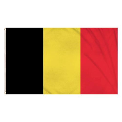 Bandera De Bélgica 5 X 3 Pies