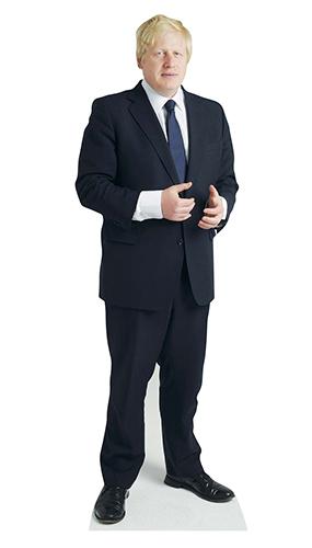 Boris Johnson Mini Recorte De Cartón 89Cm