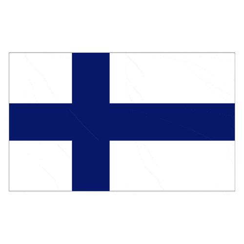 Bandera De Finlandia - 5 X 3 Pies