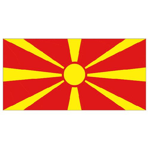 Bandera De Macedonia Del Norte - 5 X 3 Pies