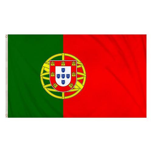 Bandera De Portugal 5 X 3 Pies