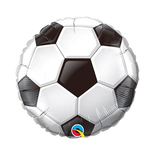 Balón De Fútbol Air Fill Foil Qualatex Globo 22Cm / 9 In