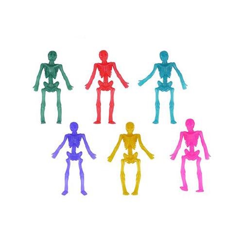 Esqueletos Elásticos De Halloween Surtidos 9Cm
