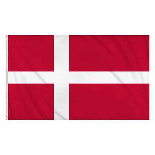 Bandera De Dinamarca 5 X 3 Pies