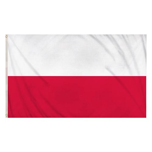 Bandera De Polonia 5 X 3 Pies