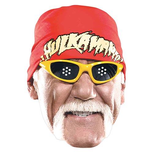 Mascarilla De Cartón Wwe Hulk Hogan