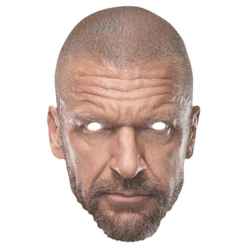 Mascarilla De Cartón Wwe Triple H