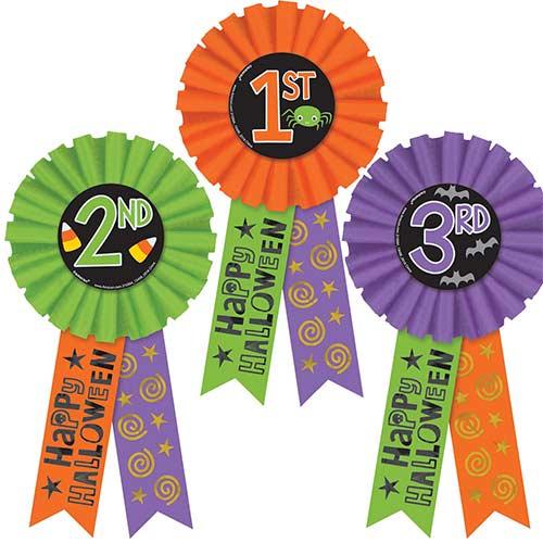Cintas De Premio Feliz Halloween - Paquete De 3
