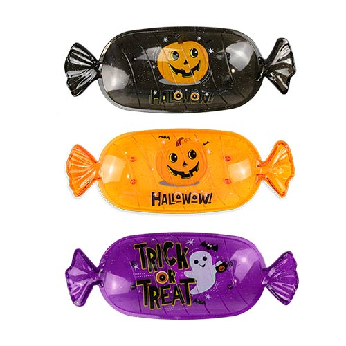 Bandeja De Plástico Con Forma De Caramelos De Halloween Surtidos 35Cm