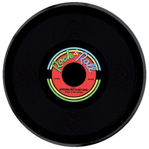Rock & Roll Round Plastic Platter 27cm